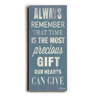 Always Remember -   Planked Wood Wall Decor by FLAVIA