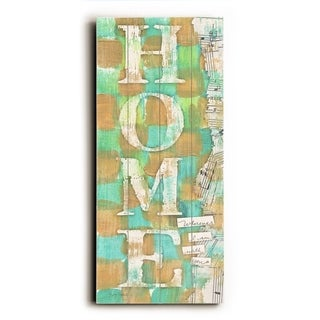 Home -   Planked Wood Wall Decor by Misty Diller