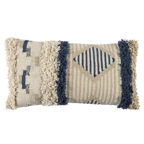 The Curated Nomad Romolo 14x26-inch Cotton Throw Pillow