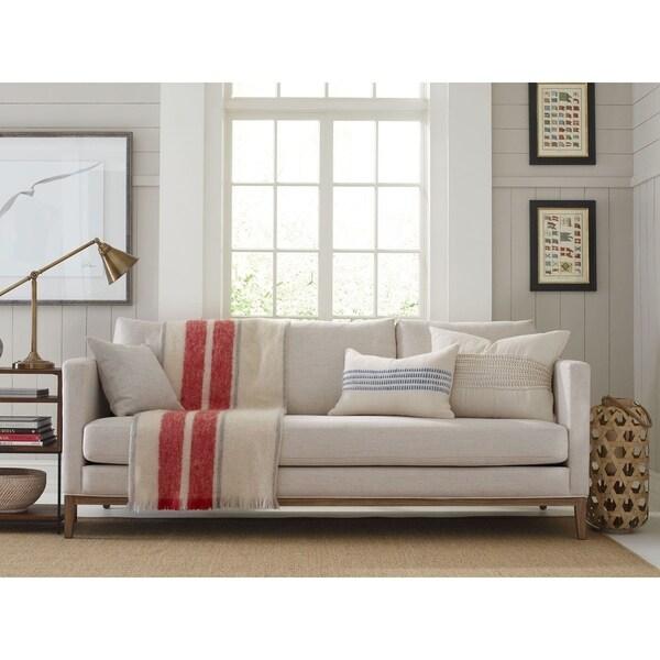Tommy Hilfiger Guilford Sofa With Solid Wood Base, Coastal Cream