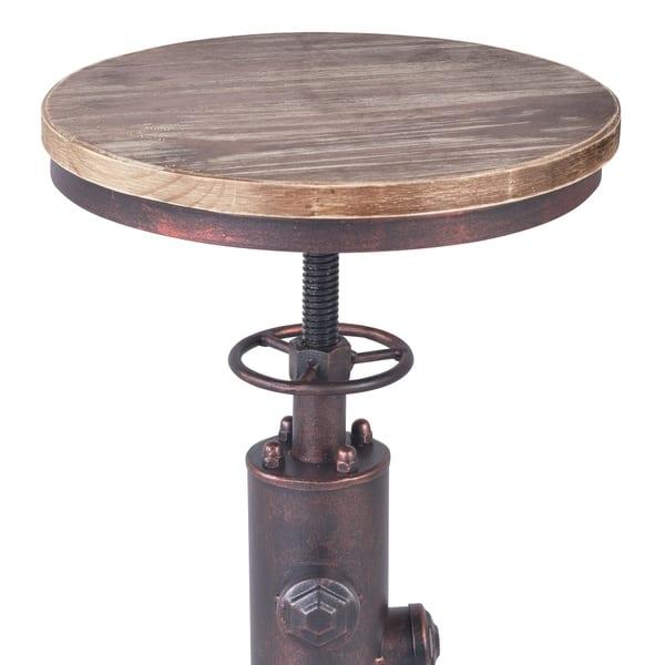 Marvelous Shop Remy Industrial Adjustable Barstool In Industrial Spiritservingveterans Wood Chair Design Ideas Spiritservingveteransorg