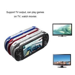 4.3inch Screen Game Console 8GB Memory Free Games With Camera