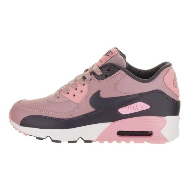 Nike Air Max 90 Youth GS Schuhe pink lila grau