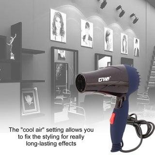 Portable Foldable Handle 1500W Hair Dryer Blow Dryer Hot Wind Low Noise 220V EU