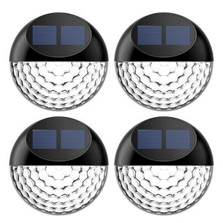 LED Solar Light outdoor lighting, Waterproof Fence Light (pack of 4)