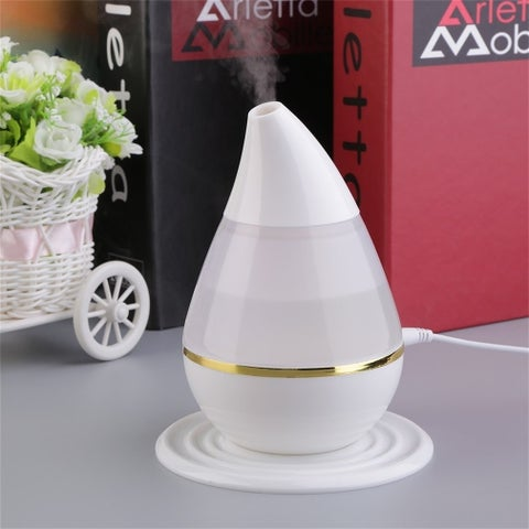 Ultrasound Air Humidifier Purifier 7 Colors LED Aroma Atomizer - 5*5*18cm