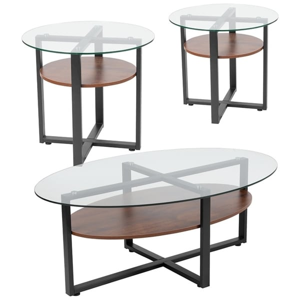 Shop Offex Princeton Collection 3 Piece Coffee And End