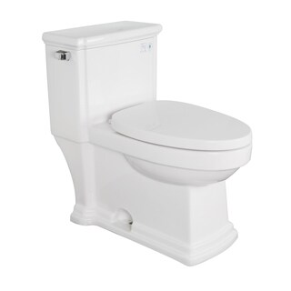 KDK A01 One Piece Siphonic Flush Elongated Bathroom Toilet