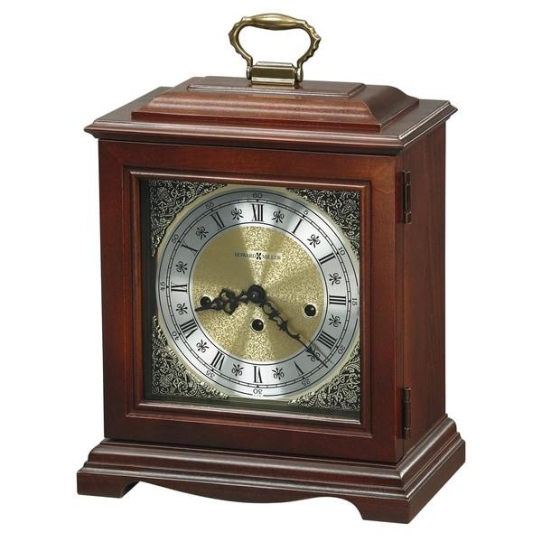 Howard Miller Graham Cherry-finished Wood Bracket Mantel Clock with Silence Option