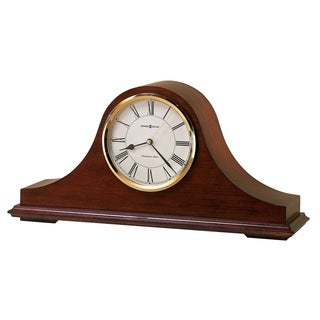 Howard Miller Christopher Classic, Traditional, Transitional, Chiming Mantel Clock with Silence Option, Reloj del Estante