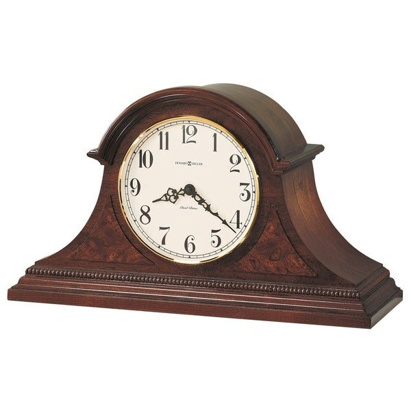 Howard Miller Fleetwood Classic, Traditional, Old World, Chiming Mantel Clock with Silence Option, Reloj del Estante