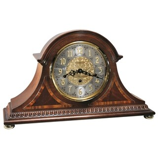 Howard Miller Webster Classic, Traditional, Old World, Chiming Mantel Clock with Silence Option, Reloj del Estante