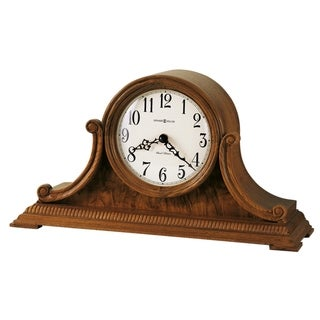 Howard Miller Anthony Classic Solid Wood Chiming Mantel Clock - 8.5 in. high x 15.75 in. wide x 5.25 in. deep