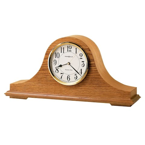 Howard Miller Nicholas Classic, Traditional, Transitional, Chiming Mantel Clock with Silence Option, Reloj del Estante