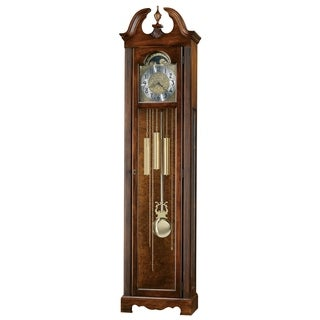 Howard Miller Princeton Classic Grandfather Clock Style Standing Clock with Pendulum and Movements, Reloj de Pendulo de Piso