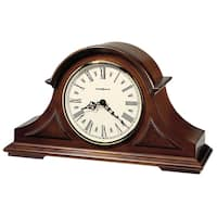 Howard Miller Burton II Classic, Traditional, Transitional, Chiming Mantel Clock with Silence Option, Reloj del Estante