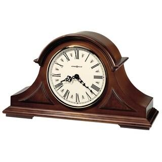 Howard Miller Burton II Classic, Traditional, Transitional, Chiming Mantel Clock with Silence Option, Reloj del Estante