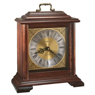 Howard Miller Medford Classic, Traditional, Old World, Chiming Mantel Clock with Silence Option, Reloj del Estante
