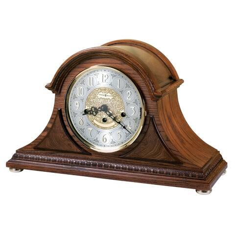 Howard Miller Barrett II 2002 Anniversary Classic, Traditional, Old World, Chiming Mantel Clock, Reloj del Estante