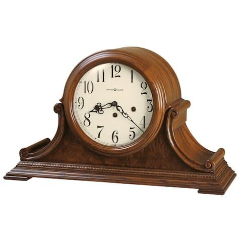 Howard Miller Hadley Retro, Traditional, Old World, Chiming Mantel Clock with Silence Option, Reloj del Estante