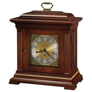 Howard Miller Thomas Tompion Classic, Traditional, Old World, Chiming Mantel Clock with Silence Option, Reloj del Estante