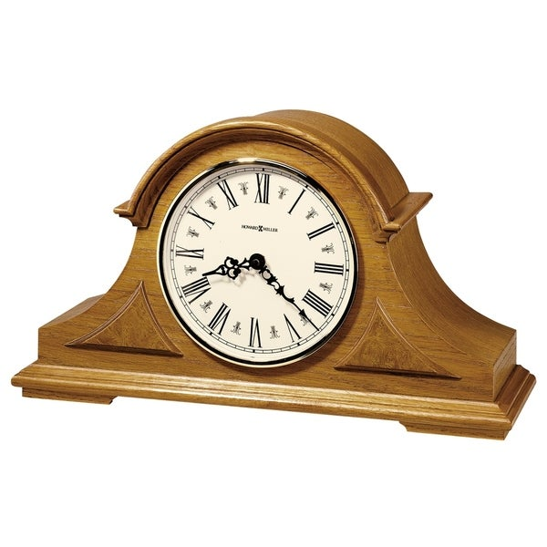 Howard Miller Burton Classic, Traditional, Transitional, Chiming Mantel Clock with Silence Option, Reloj del Estante