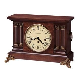Howard Miller Cherry Wood Victorian Old World Chiming Mantel Clock