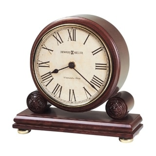 Howard Miller Redford Classic, Traditional, Old World, Chiming Mantel Clock with Silence Option, Reloj del Estante