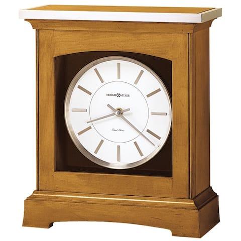 Howard Miller Urban Modern, Contemporary, Transitional Chiming Mantel Clock with Silence Option, Reloj del Estante