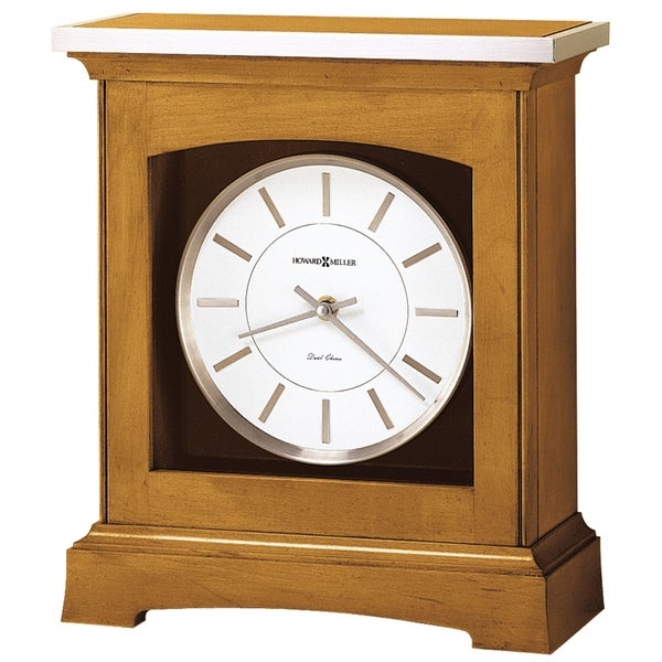 Howard Miller Urban Modern, Contemporary, Transitional Chiming Mantel Clock with Silence Option, Reloj del Estante. Opens flyout.