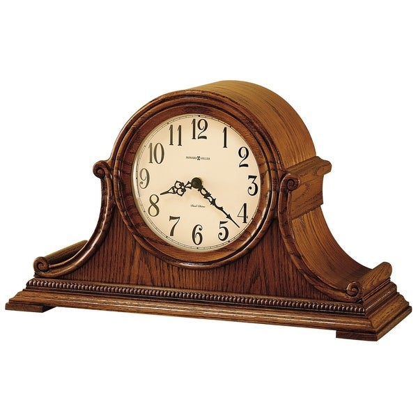 Howard Miller Hillsborough Classic, Traditional, Old World, Chiming Mantel Clock with Silence Option, Reloj del Estante. Opens flyout.
