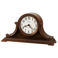 Howard Miller Albright Classic, Traditional, Transitional, Chiming Mantel Clock with Silence Option, Reloj del Estante