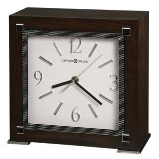 Howard Miller Reese Contemporary, Transitional, Retro, and Sleek Accent Mantel Clock, Reloj del Estante