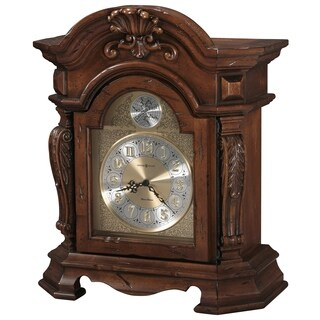 Howard Miller Beatrice Ornate, Traditional, Old World, Chiming Mantel Clock with Silence Option, Reloj del Estante