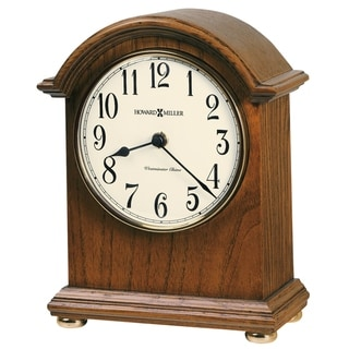 Howard Miller Myra Classic, Traditional, Old World, Chiming Mantel Clock with Silence Option, Reloj del Estante