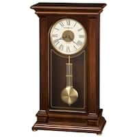 Howard Miller Stafford Contemporary, Transitional, Classic, Chiming Mantel Clock with Pendulum, Reloj del Estante