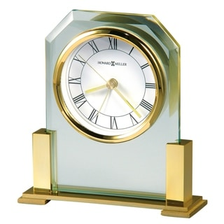Howard Miller Paramount Classic, Transitional, and Sleek Style Mantel Clock, Reloj del Estante