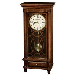 Howard Miller Lorna Contemporary, Transitional, Classic, Chiming Mantel Clock with Pendulum, Reloj del Estante