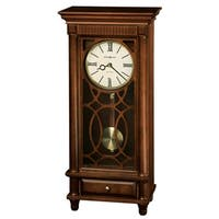 Howard Miller Lorna Contemporary, Transitional, Classic, Chiming Mantel Clock with Pendulum, Reloj del Estante