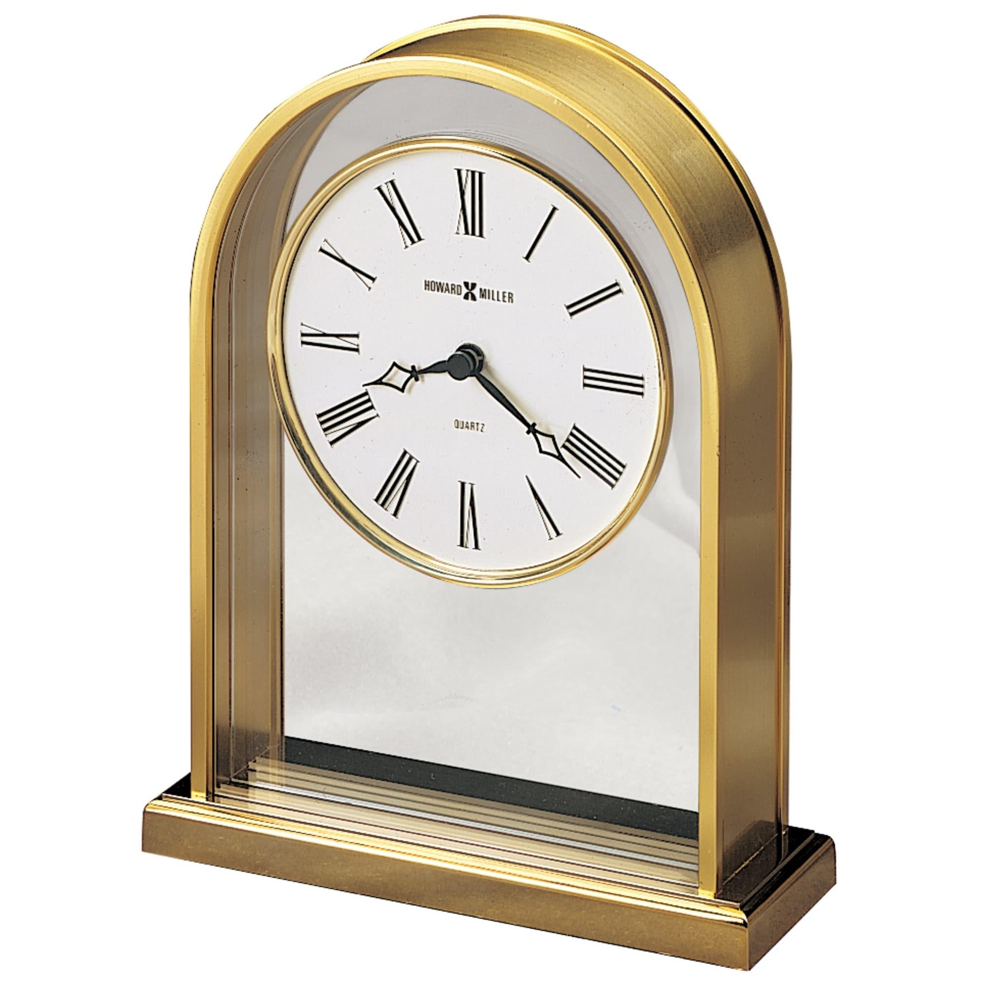 Howard Miller Reminisce Contemporary Transitional Clic And Glam Style Mantel Clock Reloj Del Estante