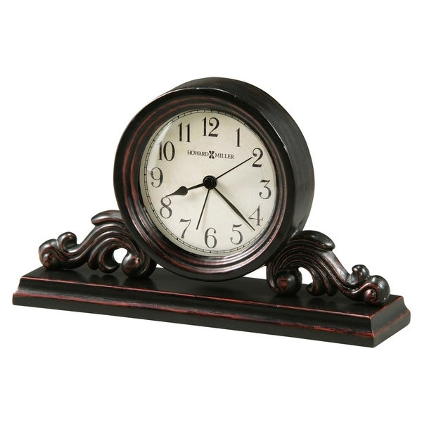 Howard Miller Bishop Classic, Traditional, Transitional, Alarm Clock with Large Numbers, Reloj Despertador