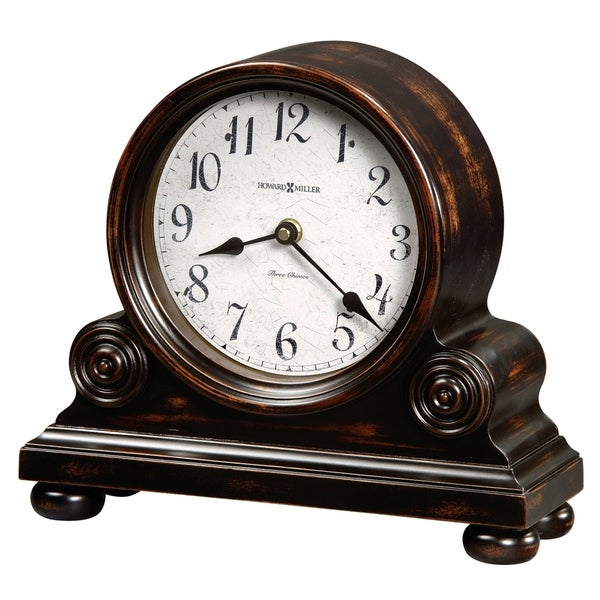Howard Miller Murray 81st Anniversary Classic, Victorian, Old World, Chiming Mantel Clock with Pendulum and Silence Option