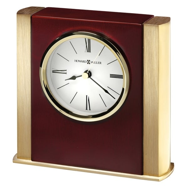 Howard Miller Ambrose, Transitional, Traditional and Bold, Statement Table Clock, Reloj de Mesa