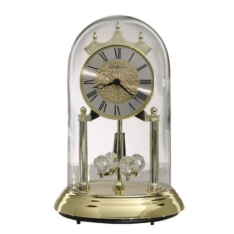 Howard Miller Christina Contemporary, Classic Style & Glam Anniversary Mantel Clock with Pendulum