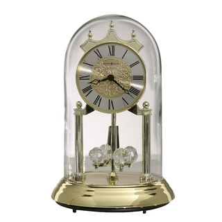 Howard Miller Christina Contemporary, Classic Style & Glam Anniversary Mantel Clock with Pendulum