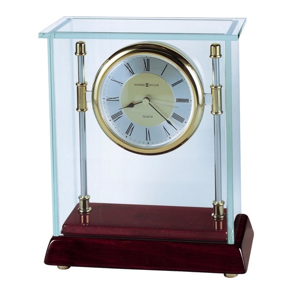 Howard Miller Kensington Contemporary, Modern, Classic Style Mantel Clock, Reloj del Estante