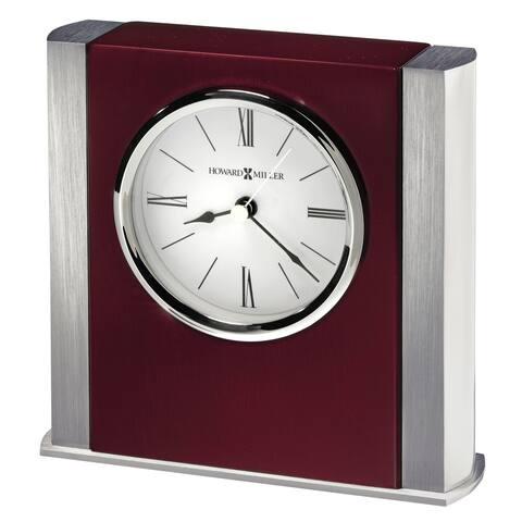 Howard Miller Manheim, Transitional, Traditional and Bold, Statement Table Clock, Reloj de Mesa