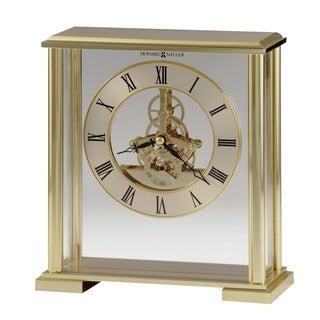 Howard Miller Fairview Contemporary, Modern, Classic Style Mantel Clock with Movements, Reloj del Estante