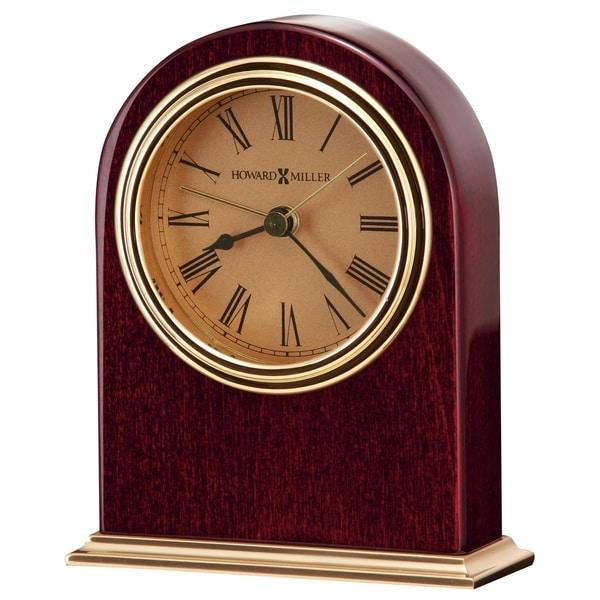 Howard Miller Parnell Vintage, Transitional, Mid-Century Modern Style Accent Mantel Clock, Reloj del Estante