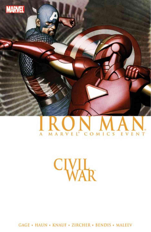 Civil War Iron Man (Paperback)